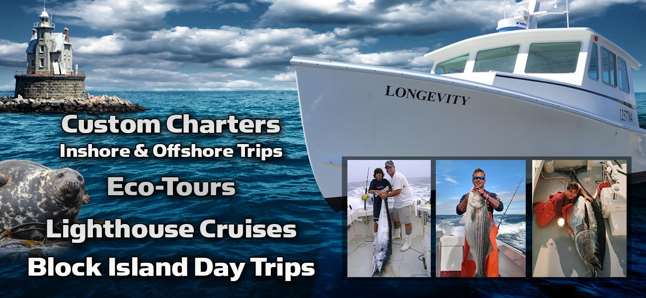 Fishing charters cruises north fork long island longevity for Fishing trips long island