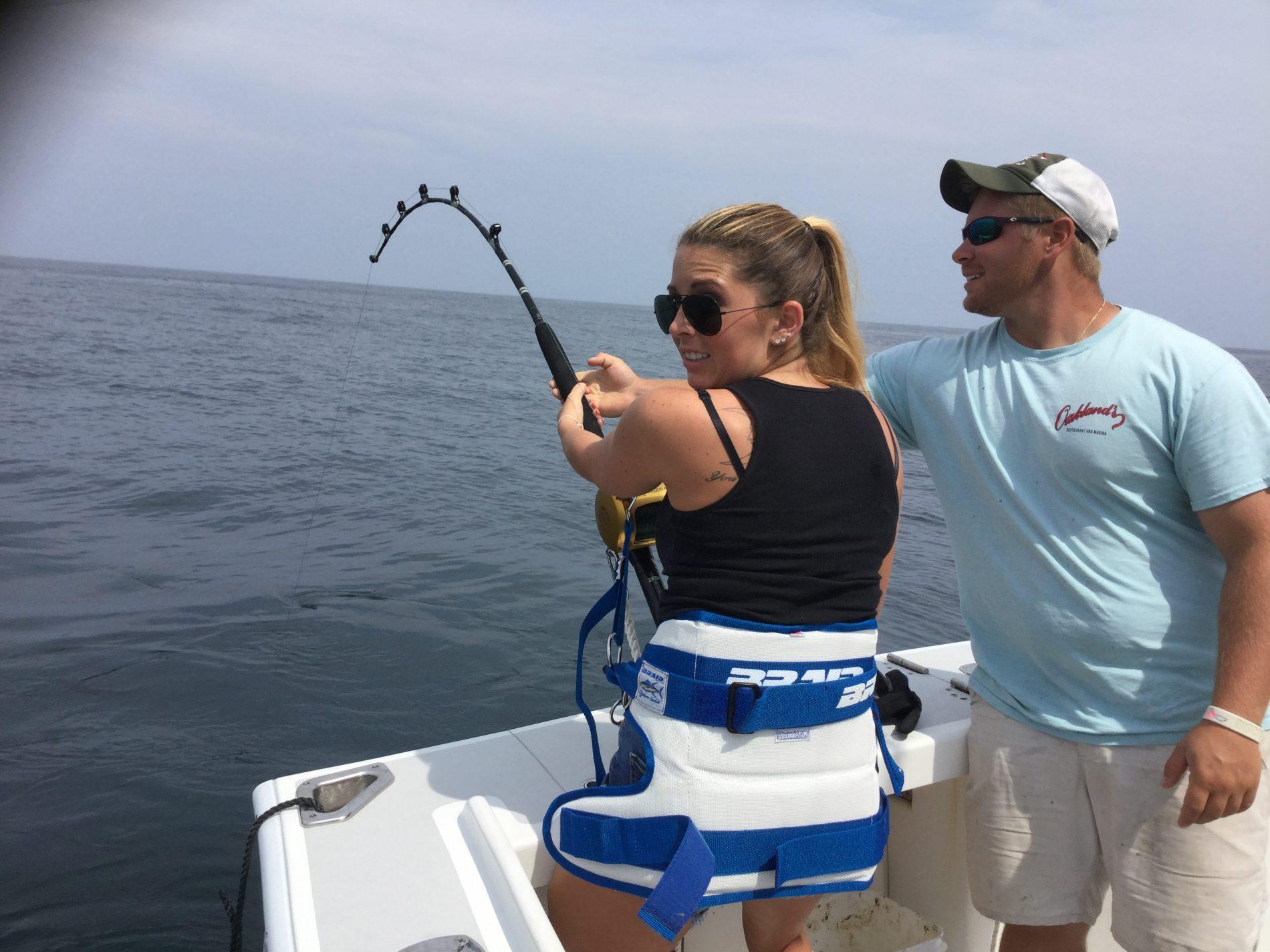 Shark fishing the north fork longevity custom charters for Long island fishing charters